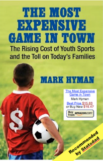Cover of The Most Expensive Game in Town book by Mark Hyman